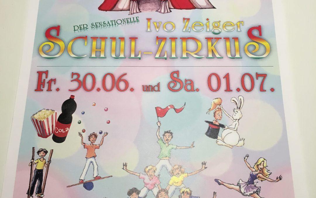 Der sensationelle IVO-Zeiger Schul-Zirkus!
